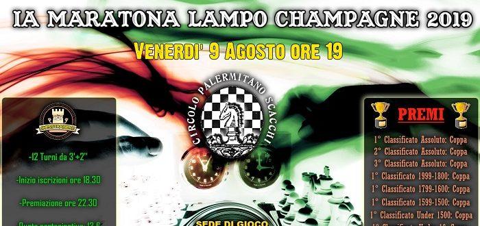 1a Maratona Lampo Champagne 2019 – Venerdì 9 Agosto ore 19