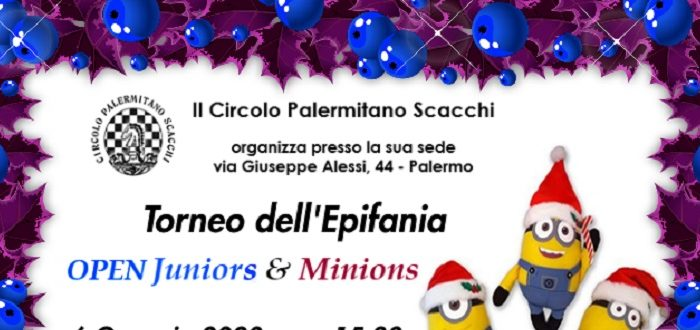 Torneo dell'Epifania CPS OPEN Juniors & Minions